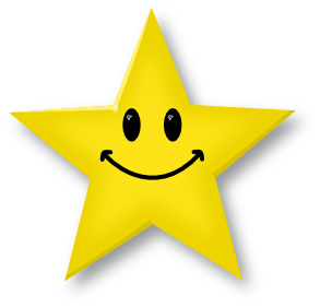 Smiley face clip art outline. Star free clipart images