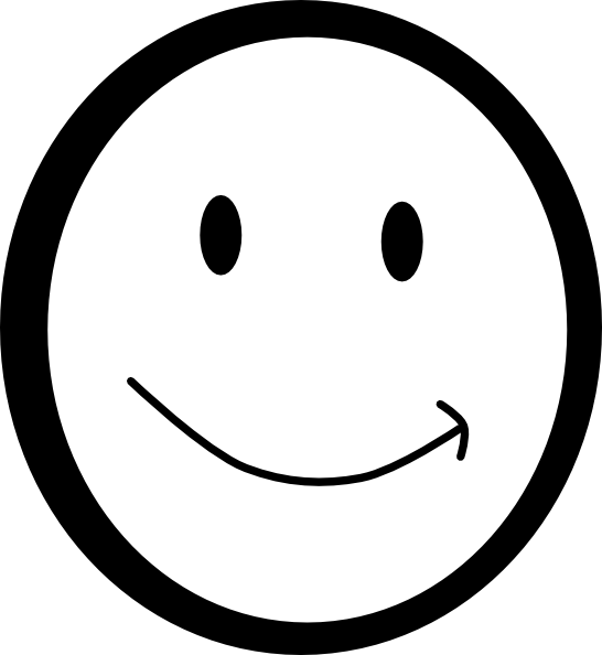 Exercise clipart smiley face. Printable happy funny images