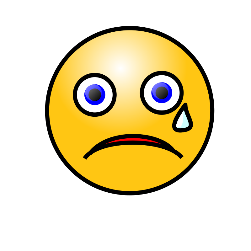 Crying contrastes ni as. Flu clipart sick face