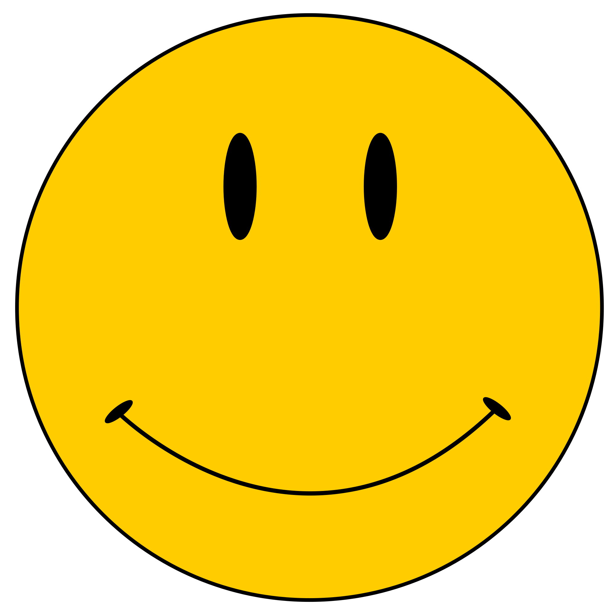 Smiley face clip art simple. Original clipart clipartix