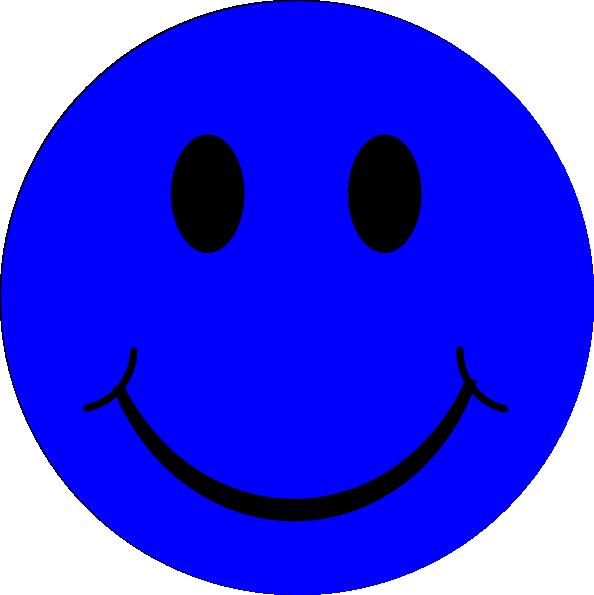 Dictionary clipart blue. Smiley face clip art