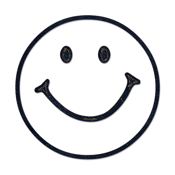 Jeans clipart . Smiley face clip art simple