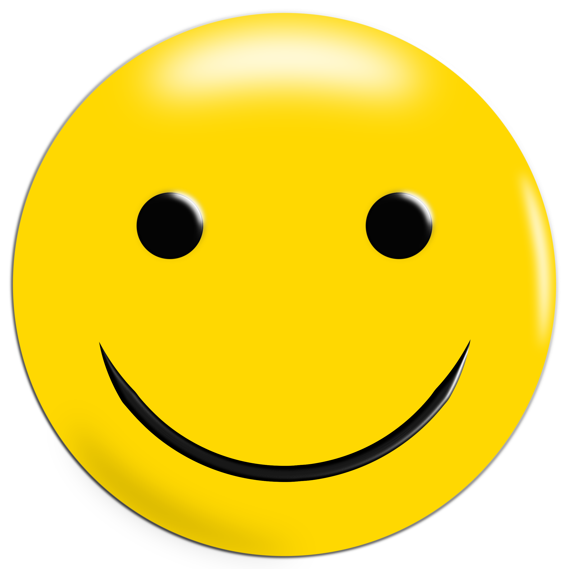Smiley face clip art simple. Yellow icons png free