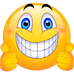 Smiley face clip art thank you. Thumbs up emoticon smileys
