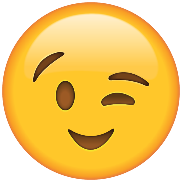Wink emoji clipart clipartuse. Smiley face clip art winking