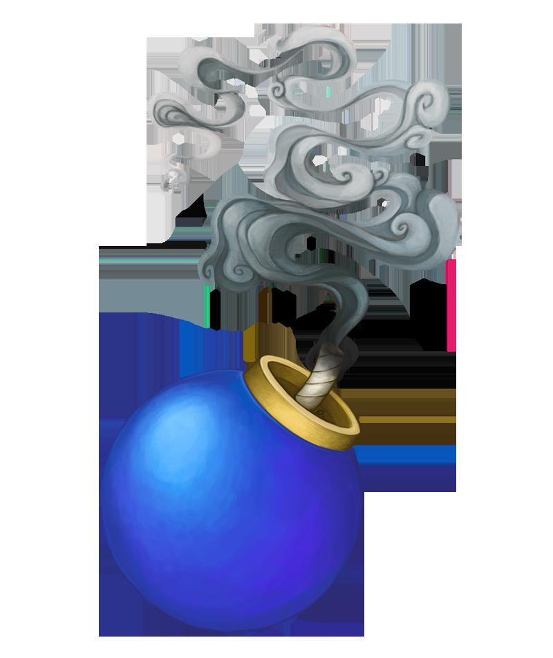 Smoke bomb png. Weekly by korikian on