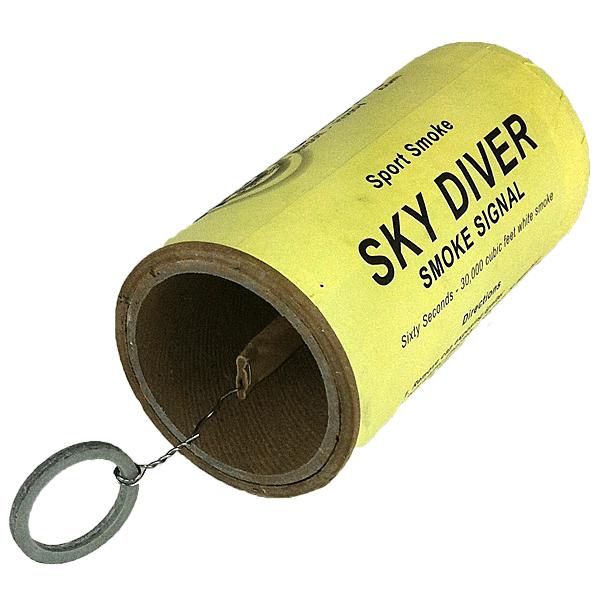 Smoke grenade png. Sky diver sport