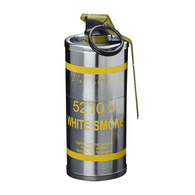 Smoke grenade png. Large container fadecase usa
