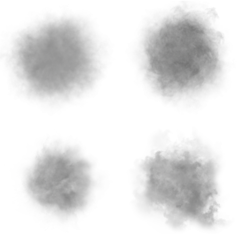 Smoke particle png. Shapes rigzsoft effects software