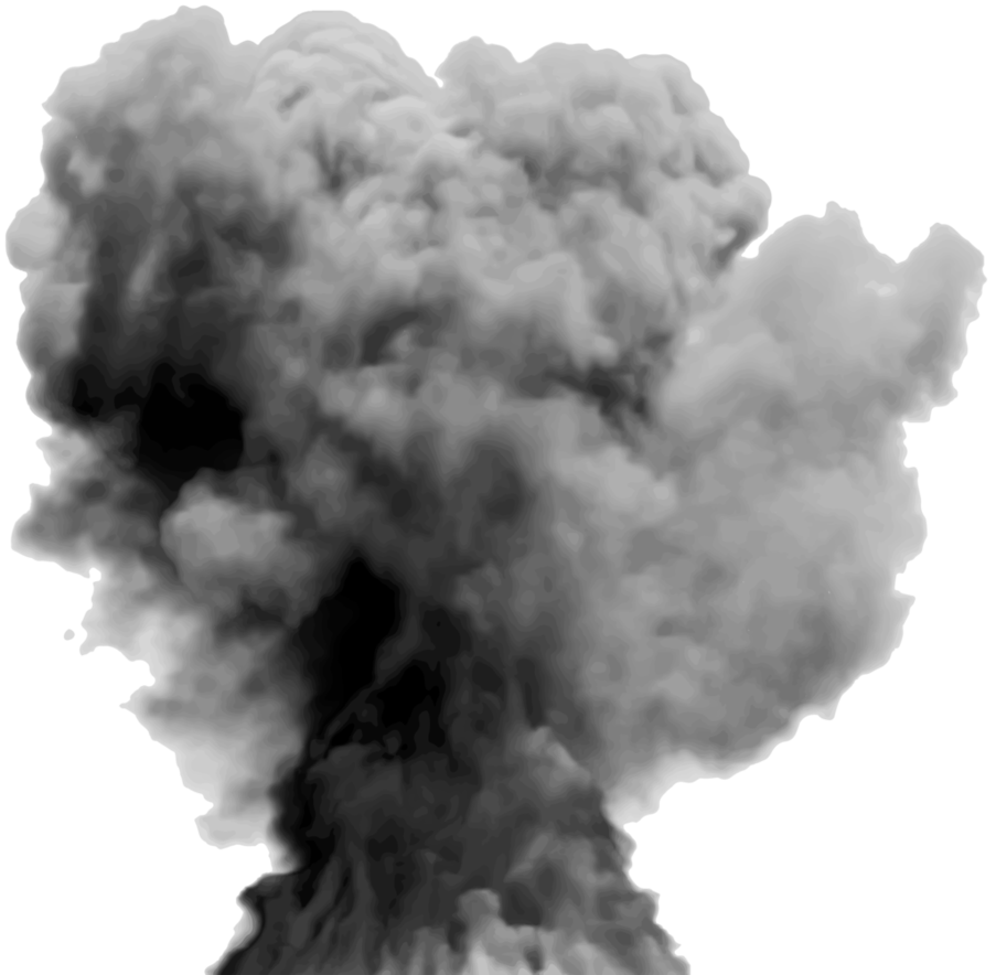 Explosion by hz designs. Smoke plume png