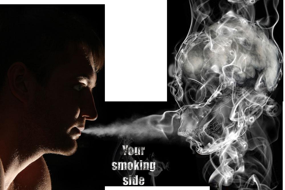 Ring creative men blow. Smoke rings png