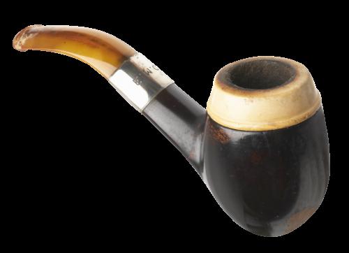Smoking pipe transparent image. Smoke rings png