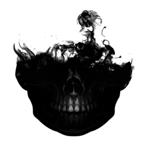 Smoke skull png. Uploaded by talism girl