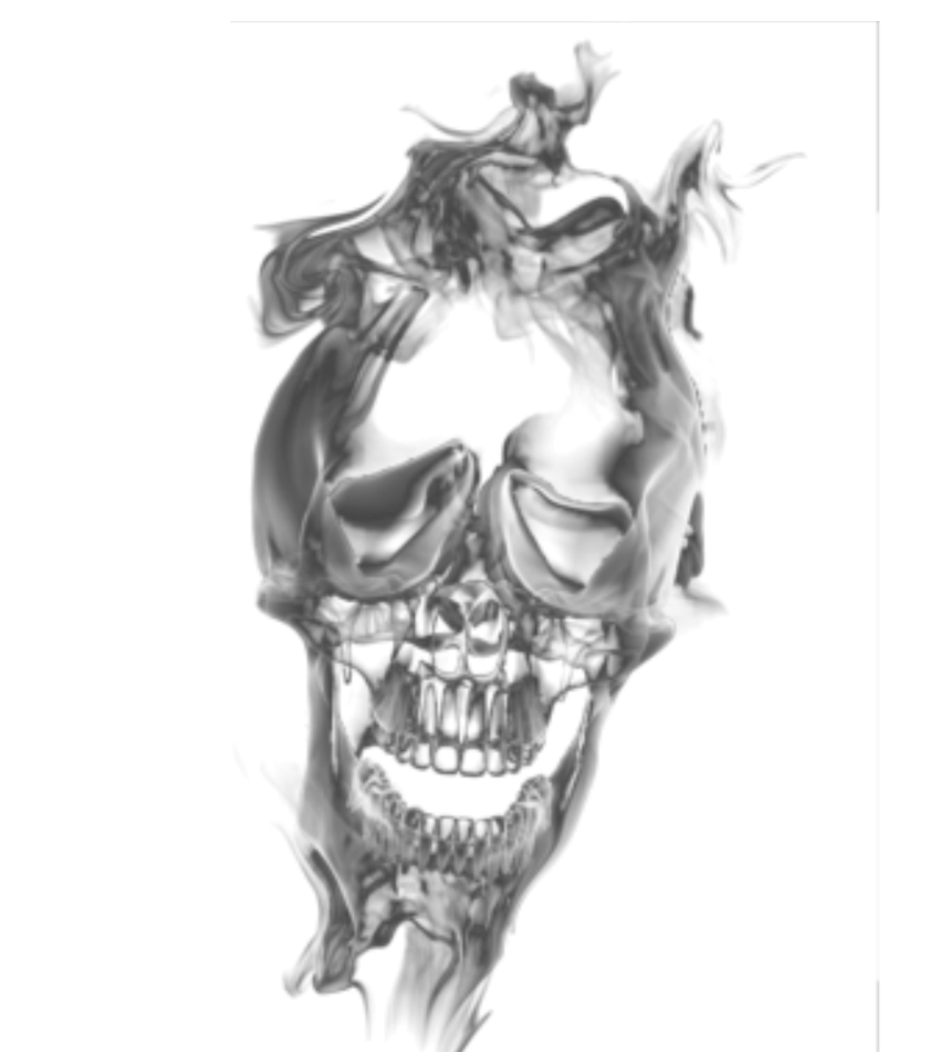 Transparant by cakkocem on. Smoke skull png