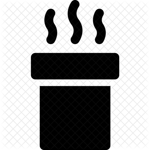 Smoke stack png. Chimney icon furniture home