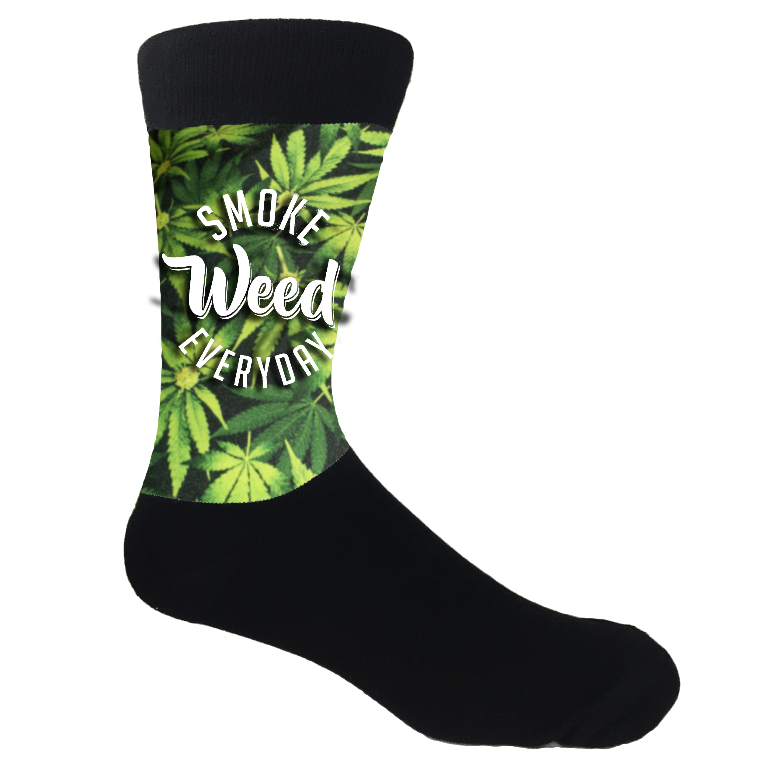 Smoke weed everyday png. Dank meme socks