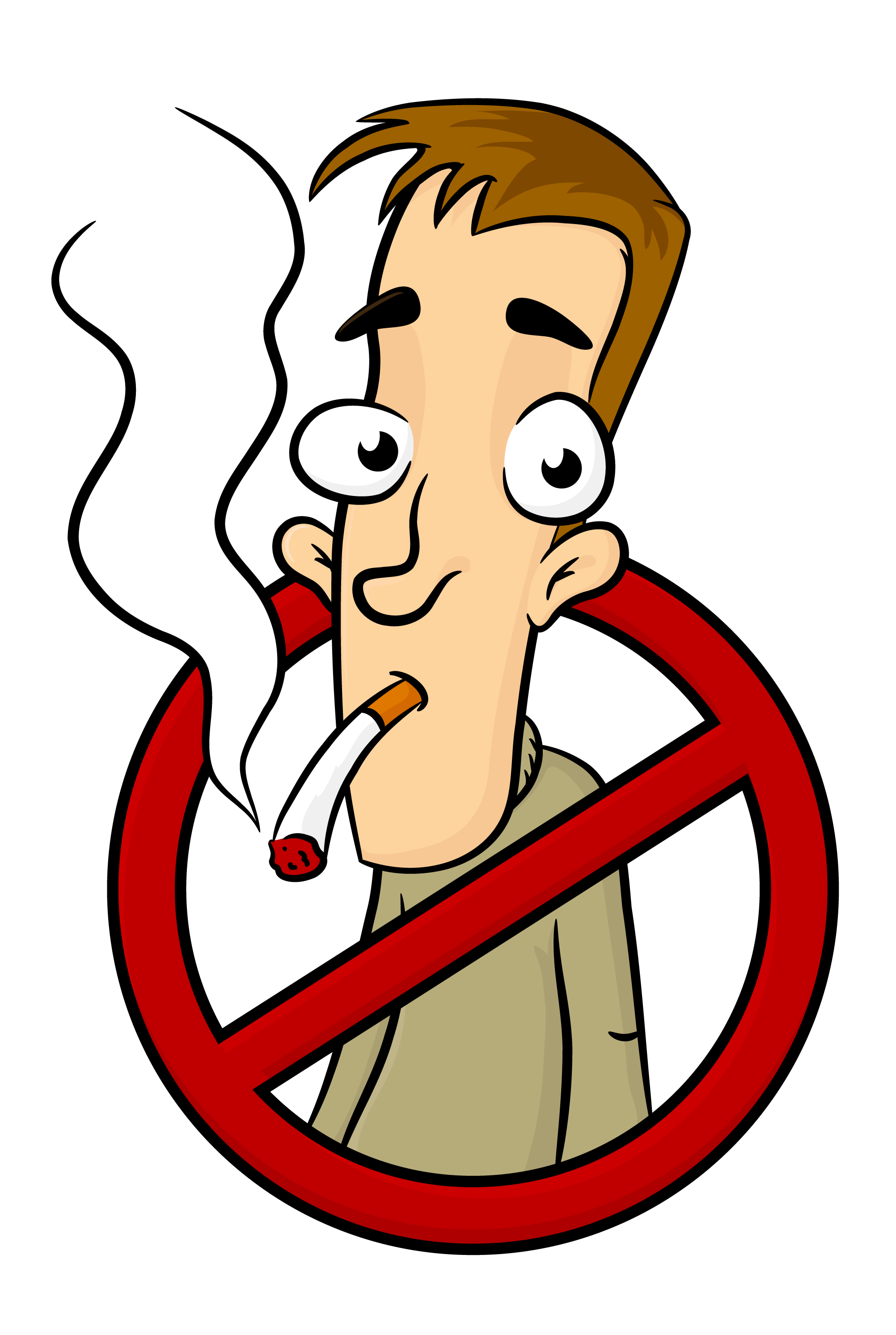 . Bad clipart smoking