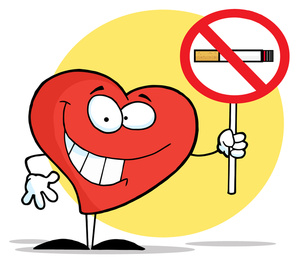 Smoking clipart. No image cartoon healthy
