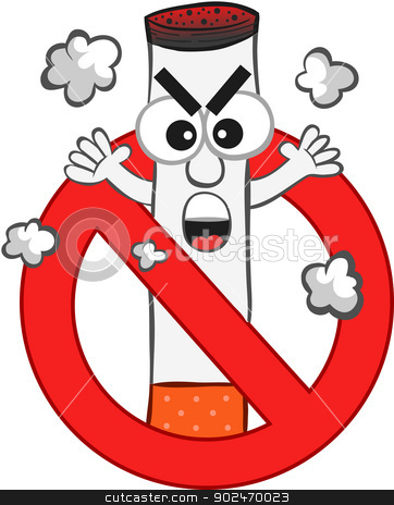 No cigarette . Smoking clipart