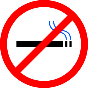 Smoking clipart. No clip art at