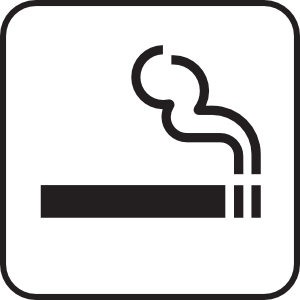 White clip art at. Smoking clipart