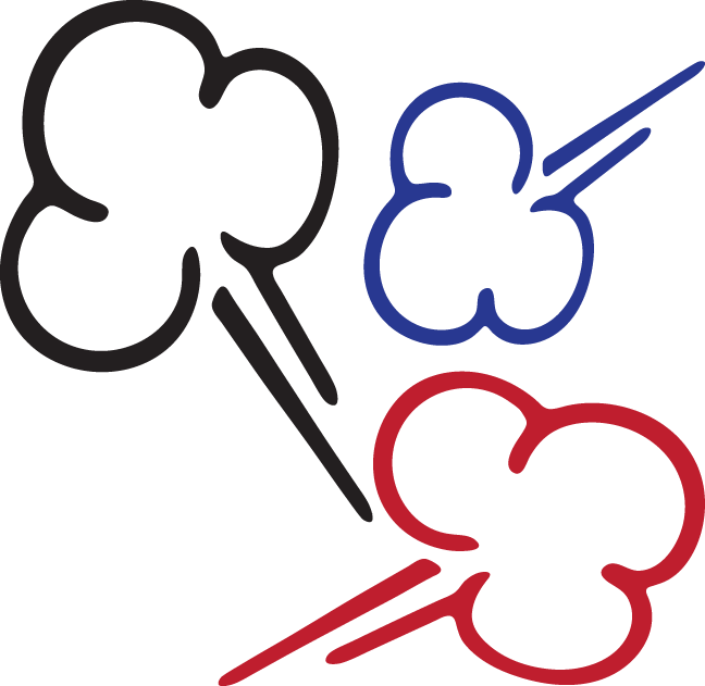 collection of puff. Cartoon smoke png