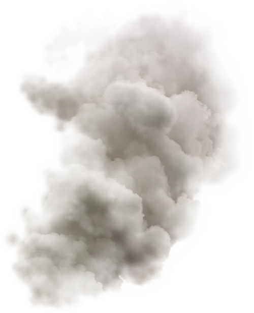 Smoking clipart smoke cloud. Colored transparent png pictures