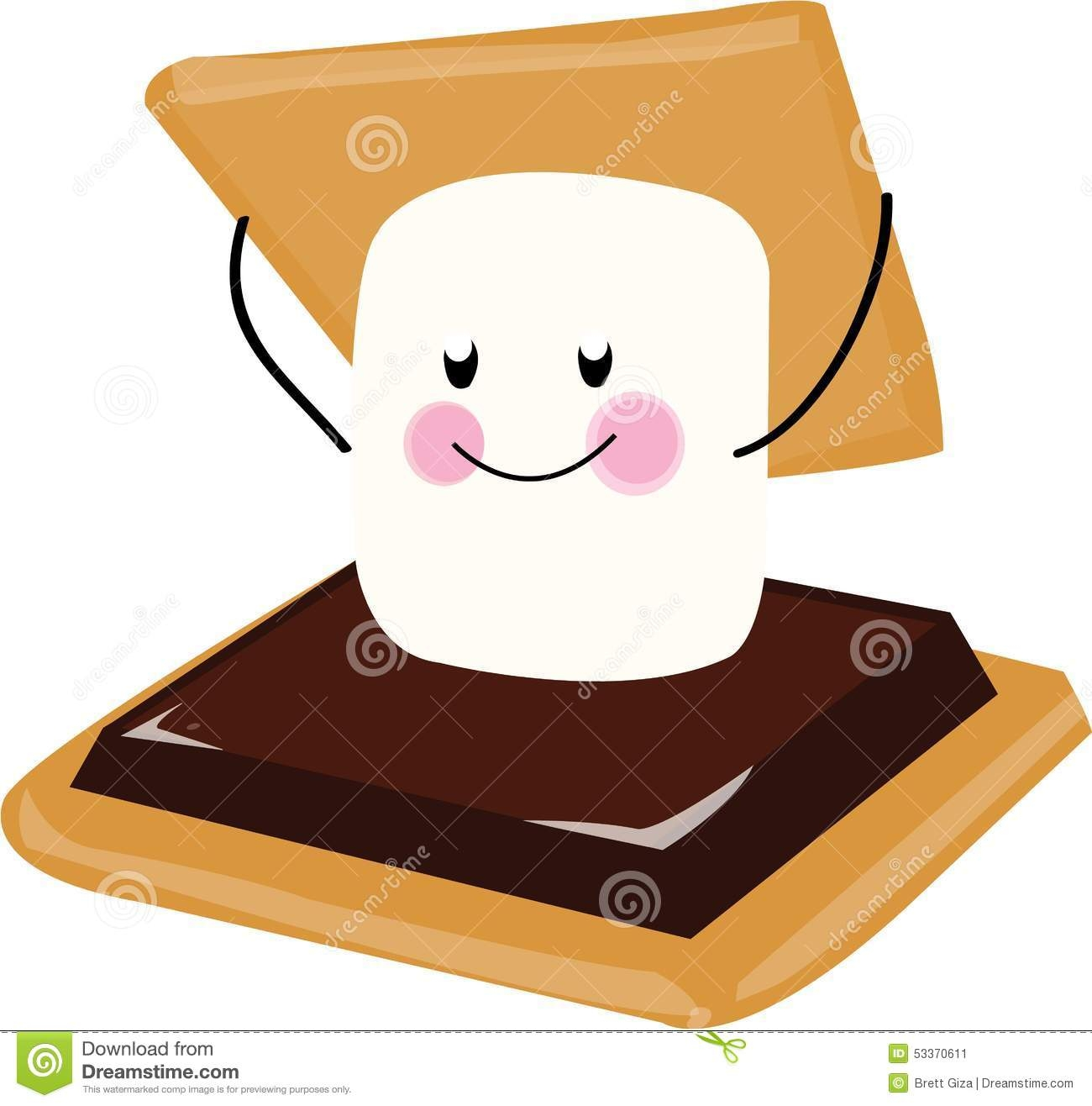 Smores clipart. Best of smore collection