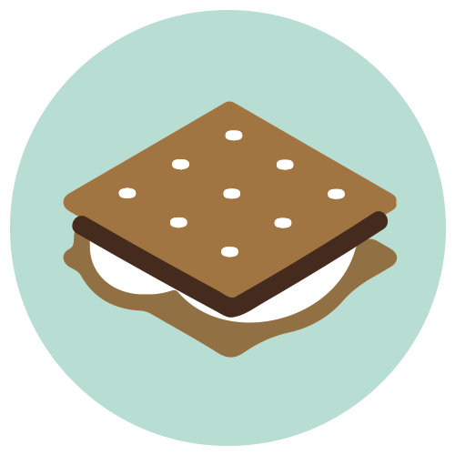 All about black and. Smores clipart
