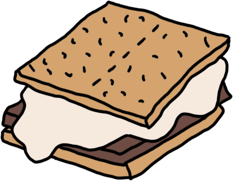 Clip art best free. Smores clipart