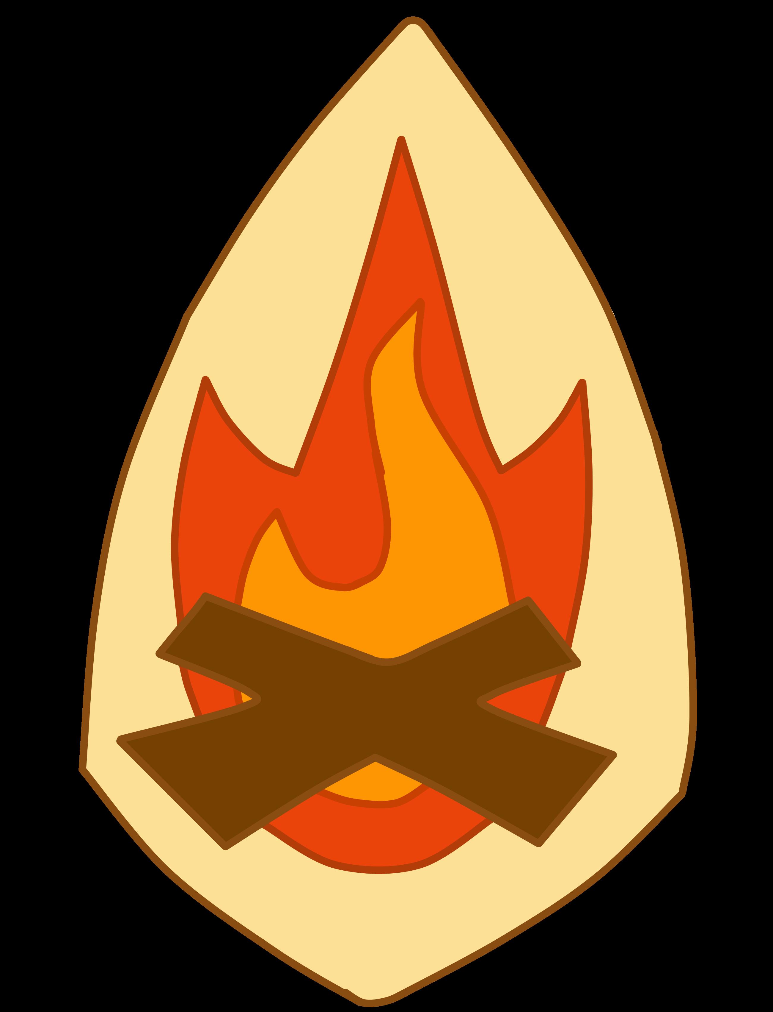 Smores clipart campfire. Bonfire fireside pencil and