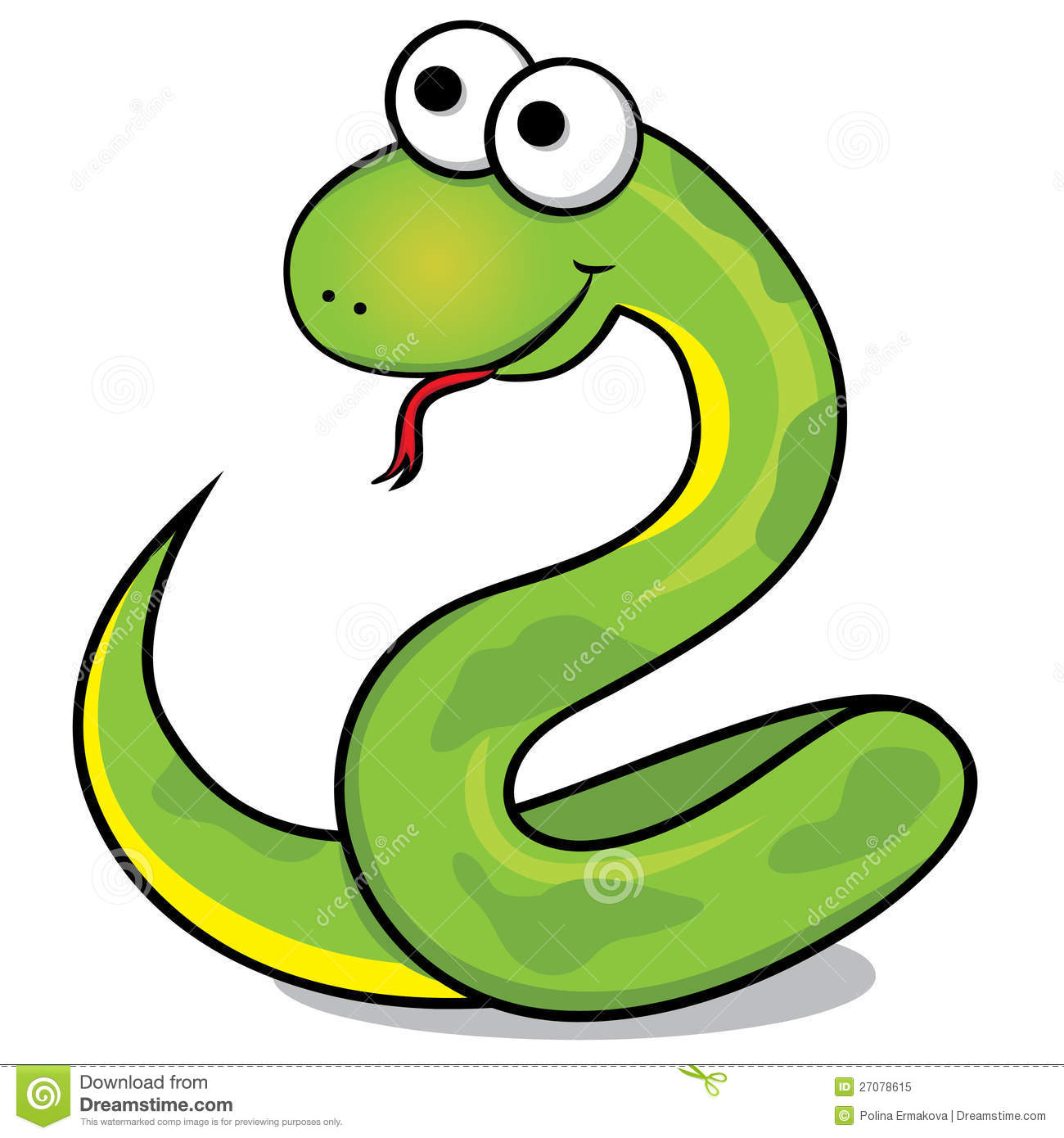 Cute . Snake clipart