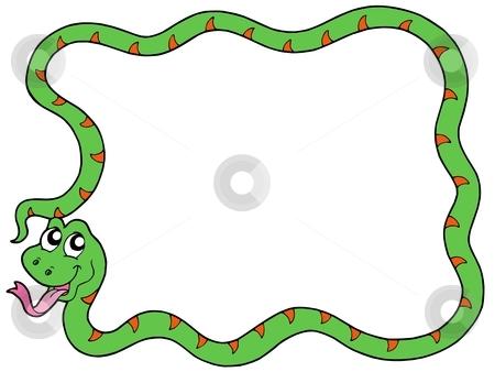 Snake clipart border. Clip art bay