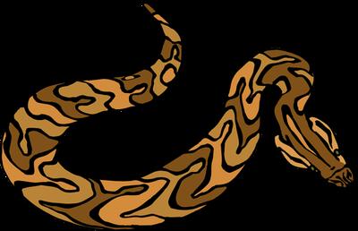 Snake clipart brown snake. Clip art library