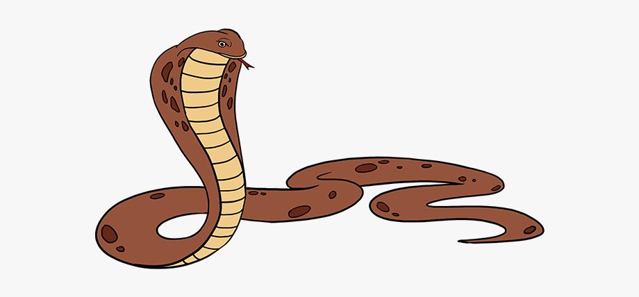 Rattlesnake simple drawing . Snake clipart easy