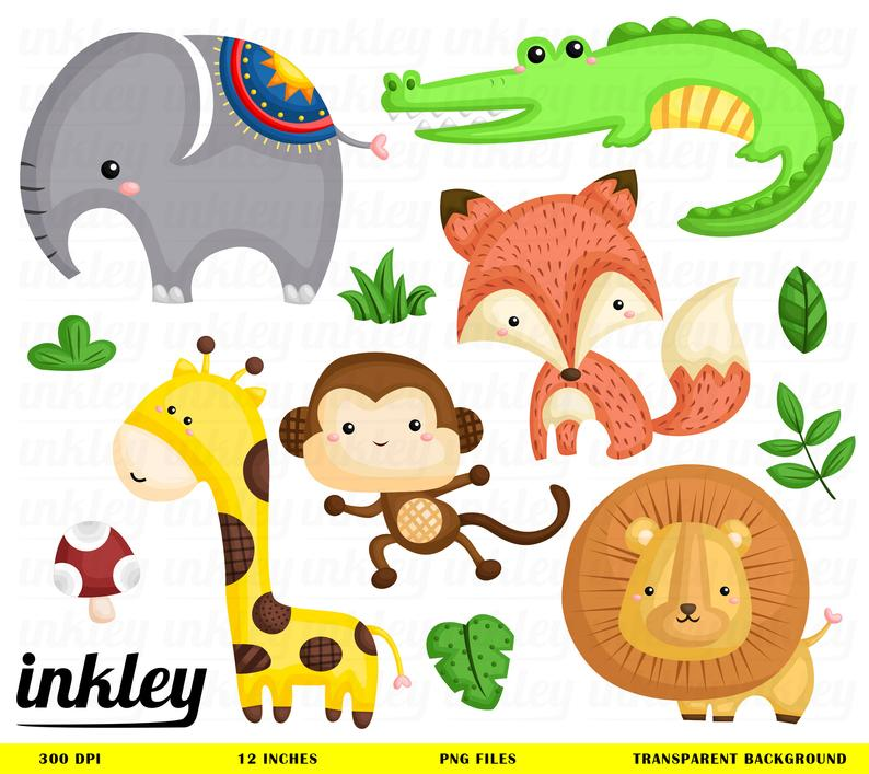 Jungle clip art png. Snake clipart forest animal