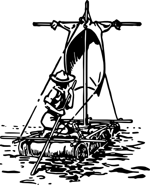 Wagon clipart ancient caravan. Scout staff hiking stick