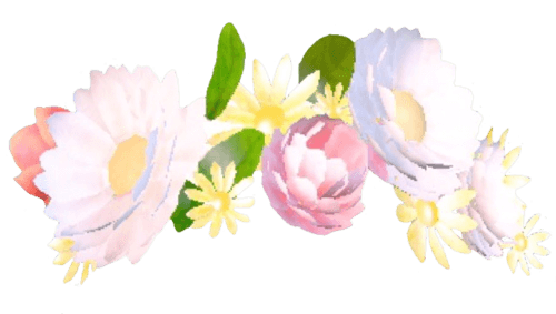 for free download. Snapchat flower crown png