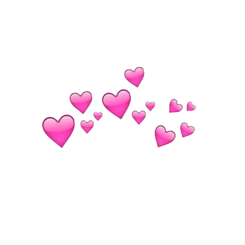 Snapchat hearts png. Related image clipart pinterest