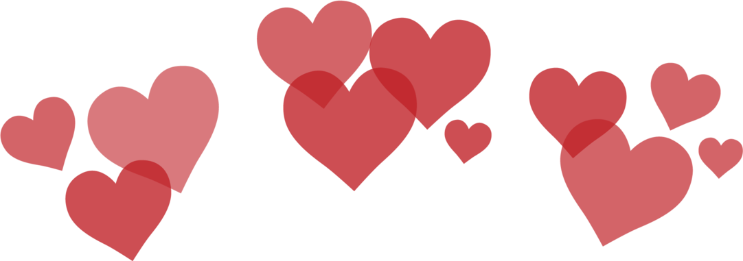 Hearts png images.  snapchat for free