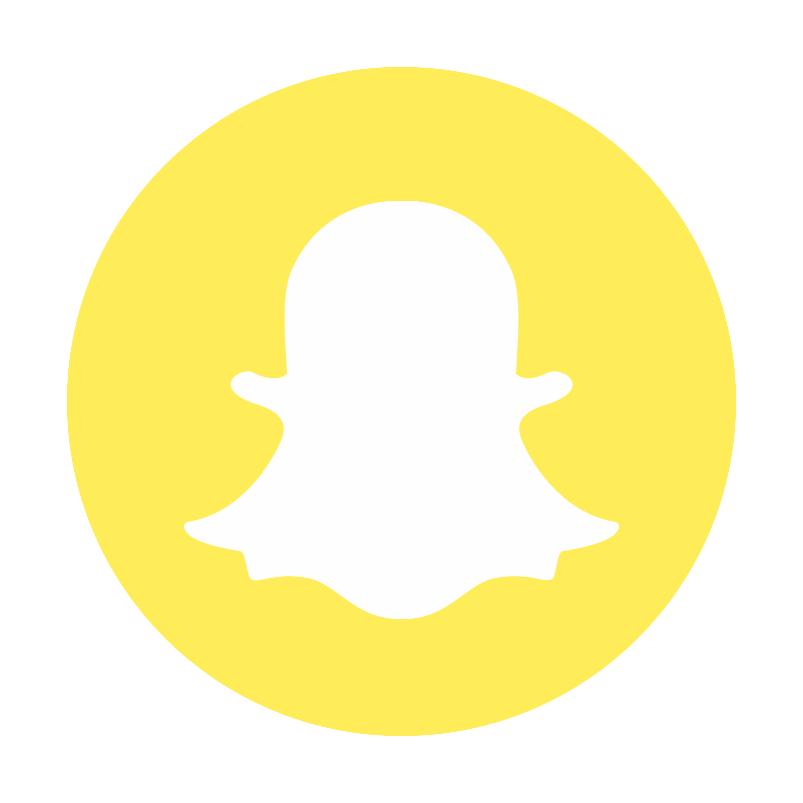 Circled logo free download. Snapchat icon png