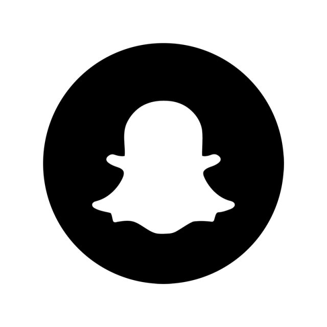 Snapchat icon png. Black amp white snap