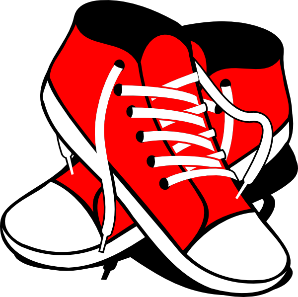 Sneakers Clip Art at Clker
