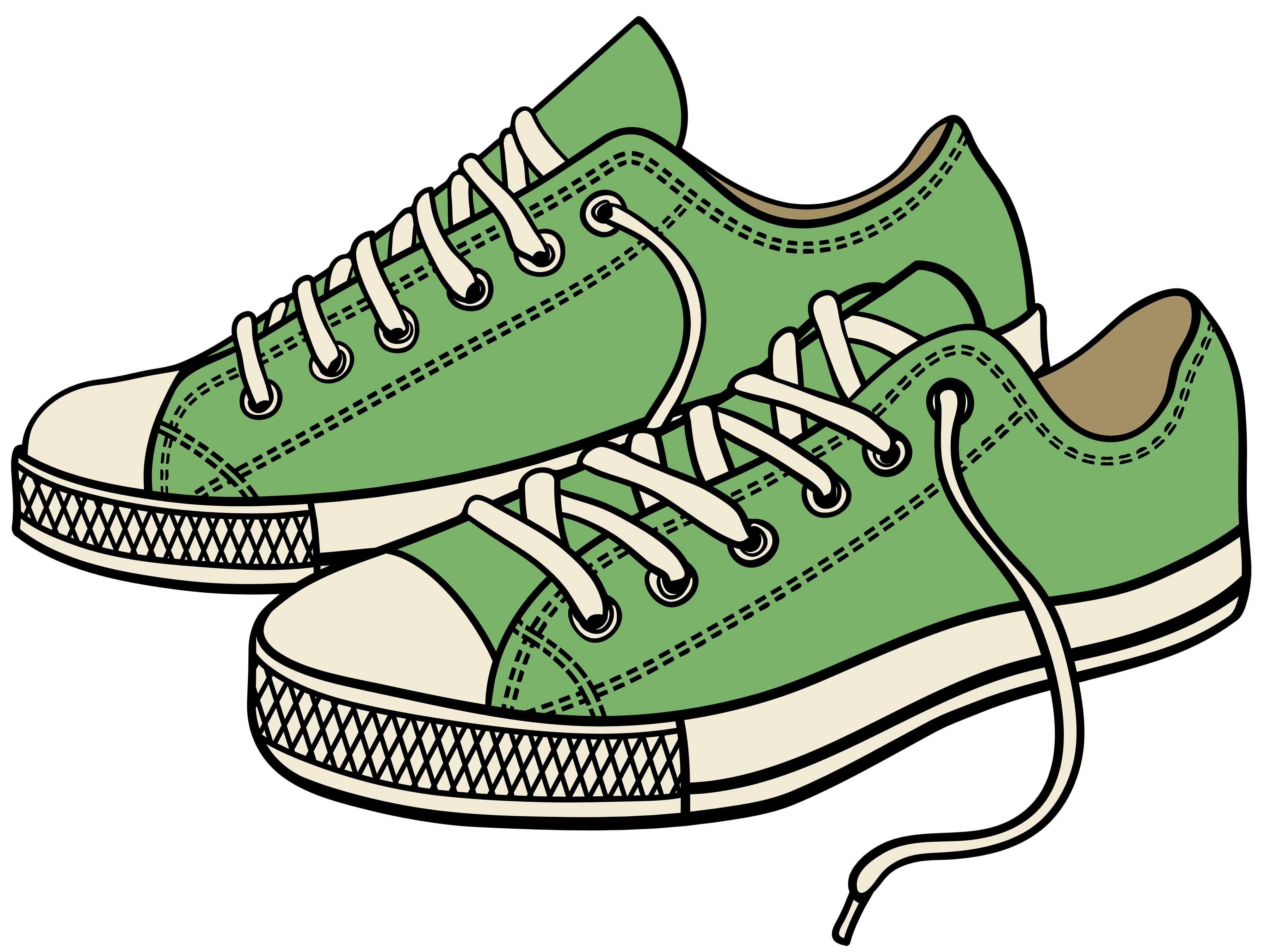 Converse clipart green clipart. Sneakers png best web