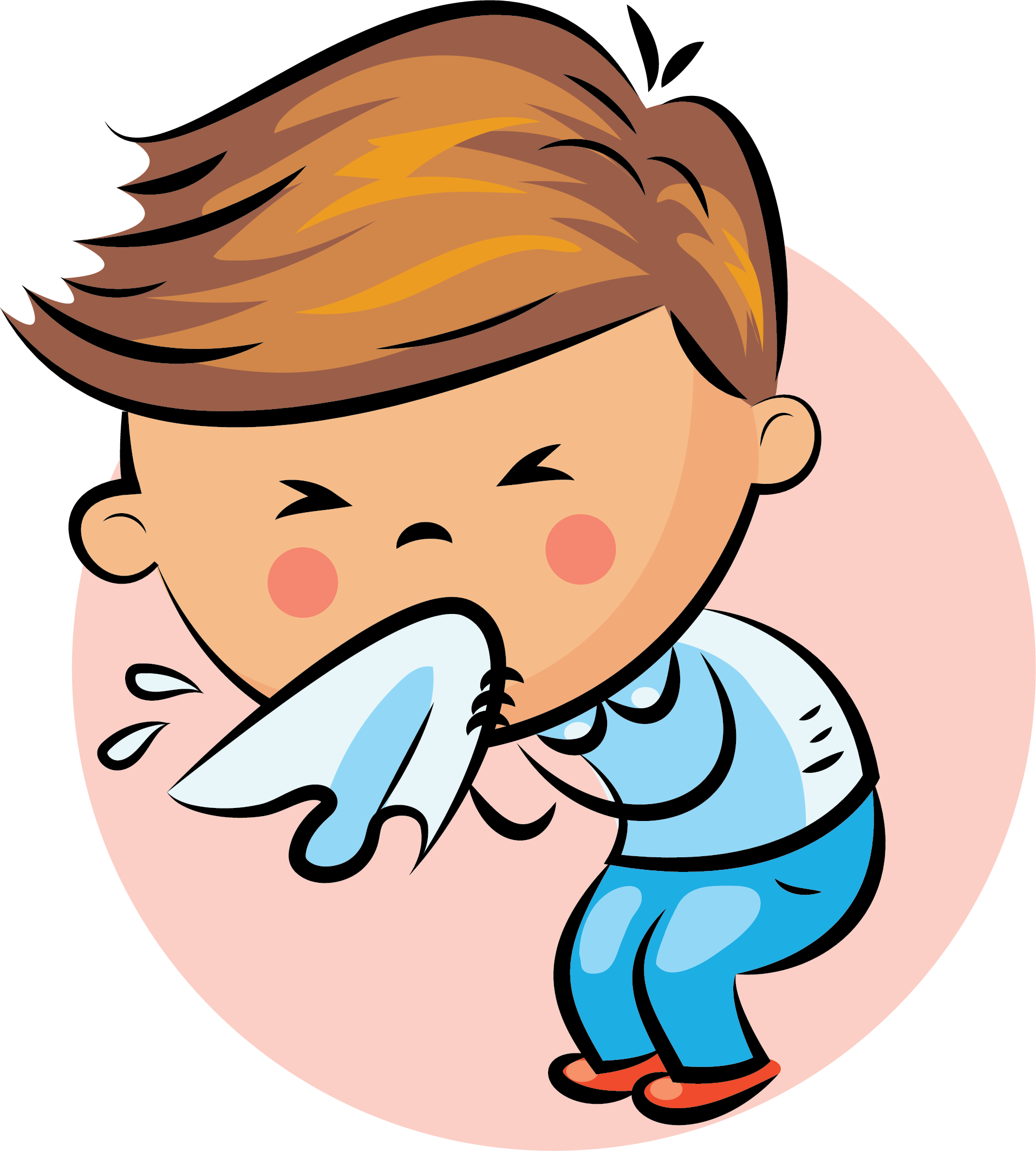 Hd sneezing runny nose. Sneeze clipart png