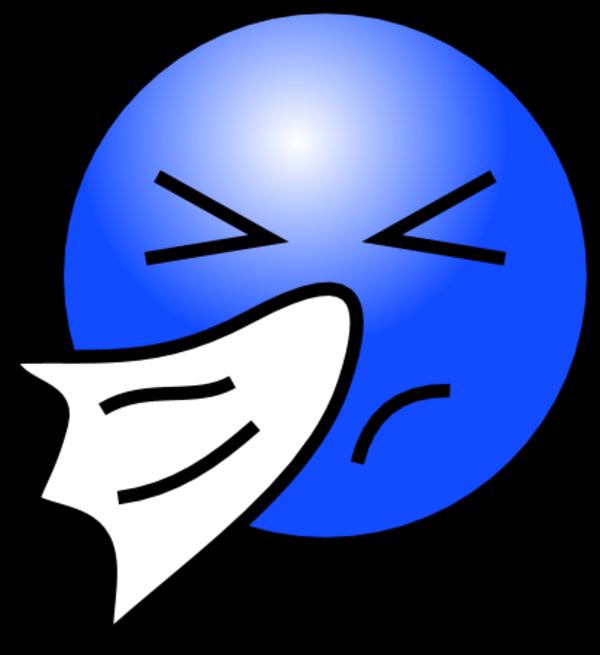 Free sneezing emoticon download. Sneeze clipart vector