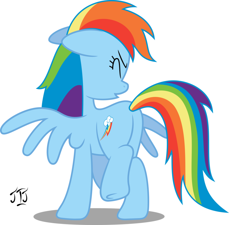 Rainbow dash by mlp. Sneeze clipart vector