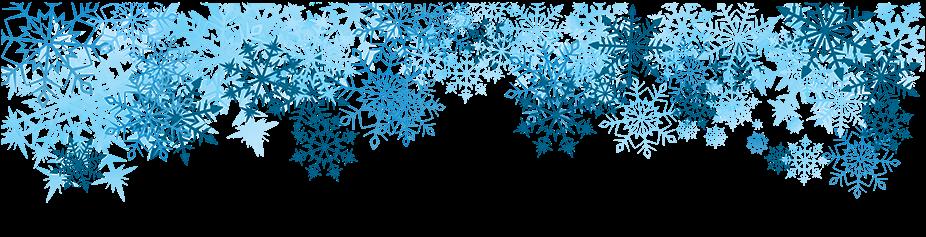 Snow border png.  jpg transparent library