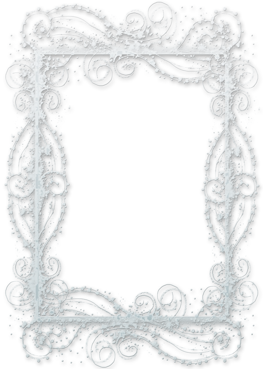 Snow frame png. Let it by melissa