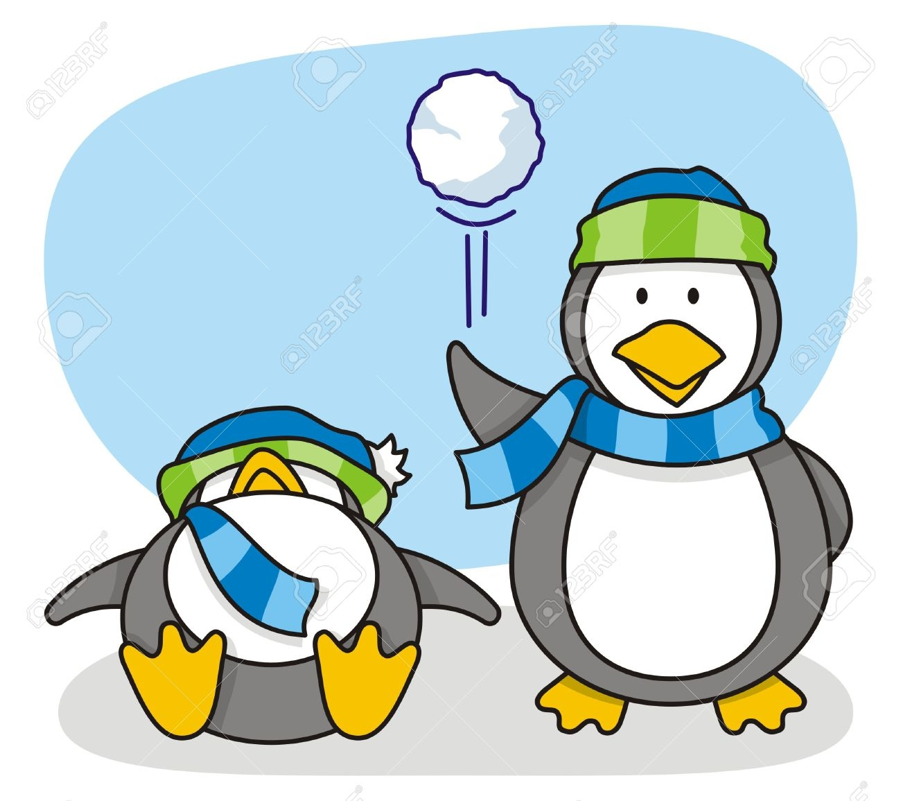 Unique gallery digital collection. Snowball clipart